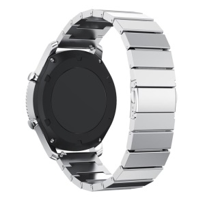 Solid Stainless Steel Watch Strap Link Bracelet for Samsung Gear S3 Classic / S3 Frontier - Silver Color