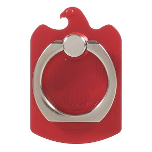 CMZWT Drop-resisting Magnetic Phone Finger Grip Ring Stand (CPS-009) - Red