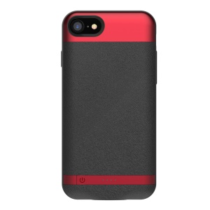 COMMA Dual SIM Card Adapter Bluetooth App Phone Case for iPhone 7 4.7 inch - Red