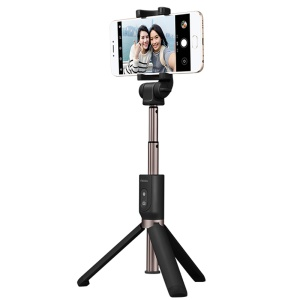 MEIZU Bluetooth Remote Control Selfie Stick Tripod for iPhone Samsung - Black