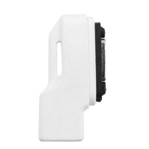 Micro USB to Magnetic Charger Connector Converter for Sony Xperia Z3/Z2/Z1 L39H - White