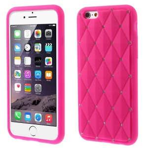 Tampa de silicone de Starry Sky Flexible para iPhone 6 / 6s 4.7 inch - flecha