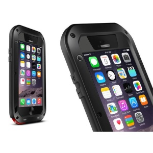 LOVE MEI Powerful Dropproof Shockproof Dustproof Case for iPhone 6 6s 4.7 - Black