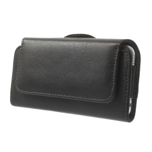Horizontal Leather Pouch Holster Case for iPhone 6s 6 4.7 inch w/ Belt Clip, Size: 14.5 x 7.6 x 1.5cm