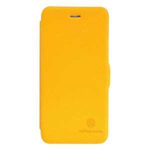 Nillkin Fresh Series Flip Leather Phone Case for iPhone 6 4.7 inch - Yellow