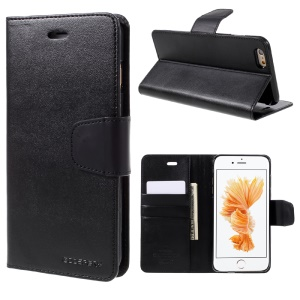 MERCURY GOOSPERY Sonata Diary Wallet Leather Case for iPhone 6s Plus / 6 Plus - Black