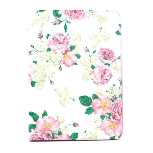 Beautiful Peony Smart Leather Flip Stand Cover for iPad Air 2