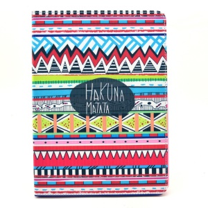 Tribal Hakuna Matata Smart Leather Flip Stand Case for iPad Air 2