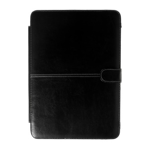 Crazy Horse Leather Protective Case for MacBook Air 13.3 inch - Black