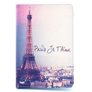 Paris Eiffel Tower Leather Cover for iPad Mini / Mini 2 / Mini 3 w/ Stand