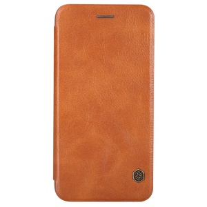 NILLKIN Qin Series Leather Card Holder Cover for iPhone 6s / 6 4.7-inch - Brown