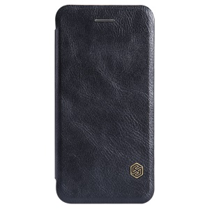 NILLKIN for iPhone 6 Plus / 6s Plus Qin Series Flip Leather Case Cover - Black