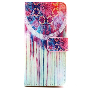 Dream Catcher Leather Stand Case for iPhone 6 with Card Slots