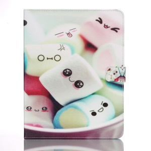 For iPad 2 3 4 Magnetic Leather Flip Cover Smart Awakening - Cute Candy