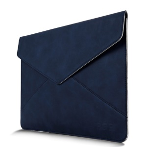 Envelope Style Leather Pouch for Macbook Air / Pro 13.3 Inch with Retina Display - Blue
