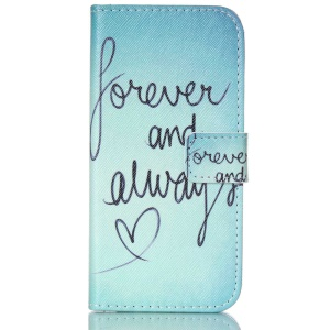 Magnetic Leather Stand Cover for iPhone 6 - Confession of Love