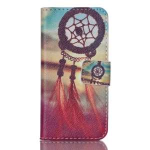 PU Leather Card Holder Case for iPod Touch 5 - Dream Catcher