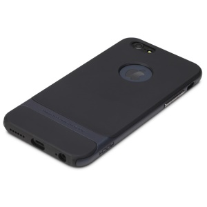 ROCK Royce Series PC + TPU Shell for iPhone 6s 6 4.7 inch - Dark Blue