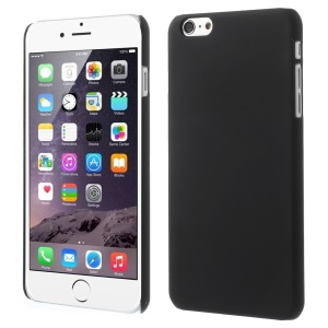 Rubberized Hard Plastic Case for iPhone 6 Plus / 6s Plus 5.5 inch - Black