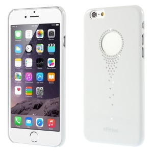 X-FITTED Stars Fall Rhinestone Elements Hard Case for iPhone 6 / 6s (4.7 inch) - White