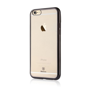 BASEUS Shining Plated TPU Case for iPhone 6s / 6 4.7 inch - Black