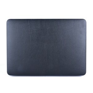Leather Coated Hard Cover for MacBook Air 13.3 Inch - Black