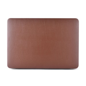 Leather Coated Hard Case for MacBook Air 13.3 Inch - Brown