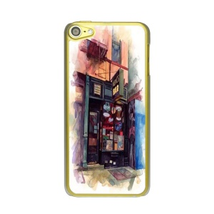 Bar Painted Plastic PC Protective Case for iPod Touch 6