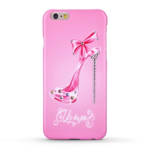 KINGXBAR Swarovski Romantic Girl Plastic Cover Case for iPhone 6s / 6 - Sexy High-heeled Shoe