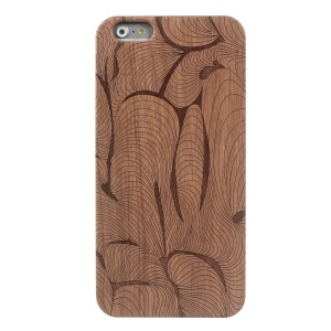 Wood Grain Plastic Hard Protective Case for iPhone 6s / 6 - Wood Grain Pattern