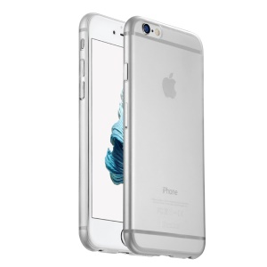 BENKS Magic Smoothie 0.8mm Matte PC Hard Case for iPhone 6s 6 - Transparent White