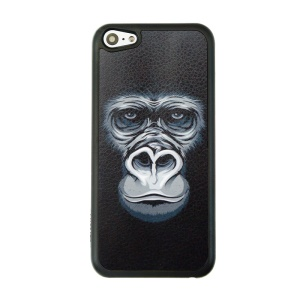 Patterned PC Hard Phone Case for iPhone 5c - Gorilla