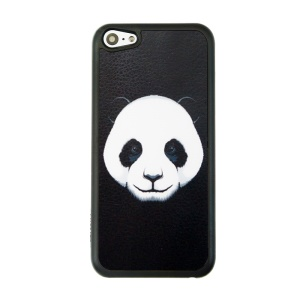 Patterned Protective Plastic Phone Case for iPhone 5c - Panda