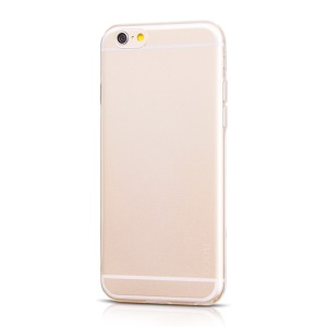 HOCO Light Series Caixa De Telefone 0.6mm TPU Para Iphone 6s / 6 4.7 Polegadas - Transparente