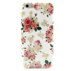 Fresh Flowers TPU Cover Case for iPhone 6