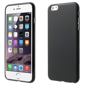 Matte TPU Gel Case Cover for iPhone 6 Plus / 6s Plus - Black
