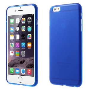 Protective Matte TPU Case for iPhone 6 Plus / 6s Plus - Blue