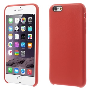 Textured Skin Soft TPU Skin Case Cover for iPhone 6s 6 - Red