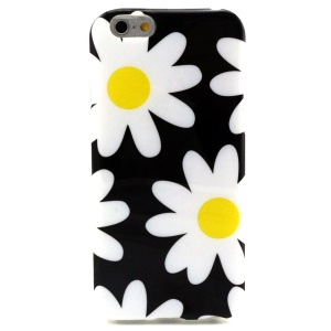 Pretty Daisy Glossy IMD TPU Case Cover for iPhone 6 4.7 inch