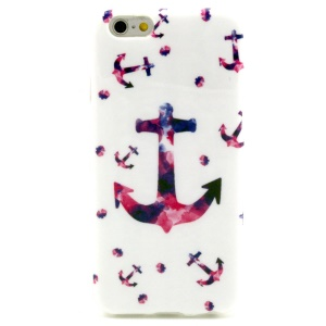 Multiple Anchors Glossy IMD TPU Back Cover for iPhone 6 4.7 inch