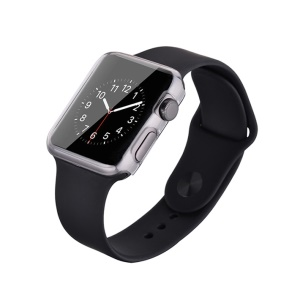 DEVIA 0.7mm Ultra-thin Soft TPU Shell for Apple Watch 38mm - Transparent