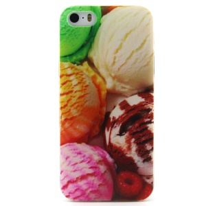Delicious Ice Cream TPU Protective Cover for iPhone 5 5s