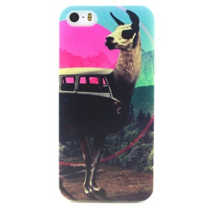 Labouring Goat TPU Protective Shell for iPhone 5 5s