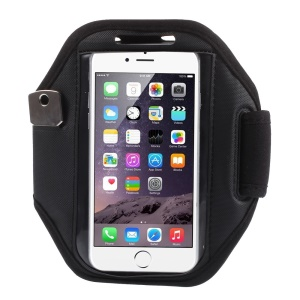 Sweat-absorbent Sports Armband Case for iPhone 6s / 6 4.7 inch, Size: 15.7 x 10.5cm - Black