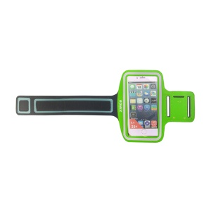 ROMIX Double Buckles Sports Armband for iPhone 6 / 6s - Green