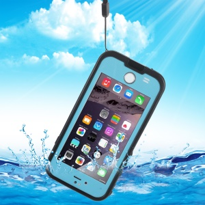 REDPEPPER XLF Series for iPhone 6 4.7-inch Waterproof Shockproof Shell - Blue