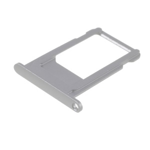 OEM SIM Card Tray Holder Part for iPhone 6s - Silver
