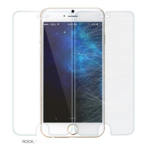 ROCK for iPhone 6 / 6s 0.3mm 2.5D Arc Edge Tempered Glass Screen Protective Film