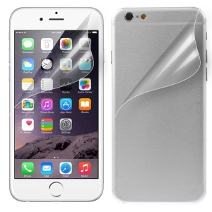 HD Clear Scratch-resistant Front and Back Protective Film for iPhone 6s Plus / 6 Plus