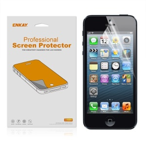 ENKAY Frosted Front & Rear Screen Protector Film for iPhone 5 5S